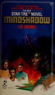 Cover of: Mindshadow (Star Trek #27) by J. M. Dillard