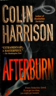 Cover of: Afterburn | Harrison, Colin