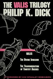 Cover of: The VALIS trilogy by Philip K. Dick