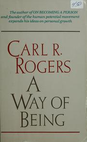 Cover of: A way of being | Rogers, Carl R.