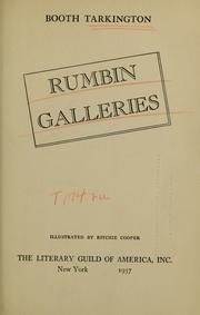 Cover of: Rumbin galleries | Booth Tarkington