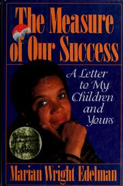 The measure of our success (1992 edition) | Open Library