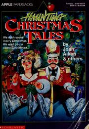 Cover of: Haunting Christmas tales |