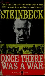 Cover of: Once there was a war | John Steinbeck