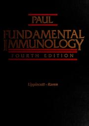 Cover of: Fundamental immunology |