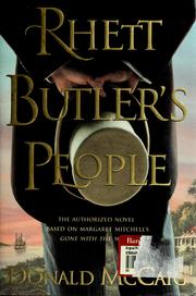 Cover of: Rhett Butler's people by McCaig, Donald.