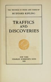 Cover of: Traffics and Discoveries by Rudyard Kipling