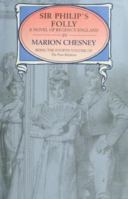 Cover of: Sir Philip's folly | Marion Chesney