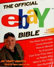 Cover of: The Official eBay Bible | Jim Griffith