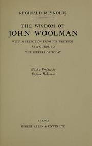 an analysis of john wooolmans ideas of freedom of the slaves