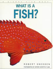 Cover of: What Is a Fish? (What is)