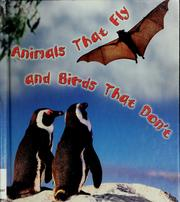 Cover of: Animals that fly and birds that don