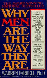 Cover of: Why men are the way they are | Warren Farrell