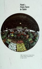 Cover of: Food--from farm to table. |