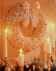 Cover of: Leisure Arts presents The spirit of Christmas | Anne Van Wagner Childs