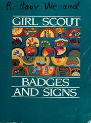 Cover of: Girl Scout badges and signs. | Girl Scouts of the United States of America.