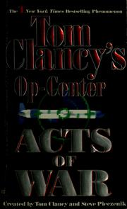 Cover of: Acts of War | Tom Clancy, Jeff Rovin