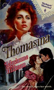 Cover of: Thomasina | Marianne Willman