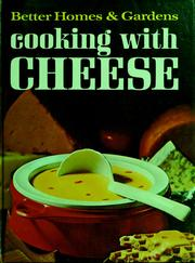 Cover of: Cooking with cheese | Better Homes and Gardens