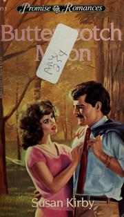 Cover of: Butterscotch Moon by Susan Kirby