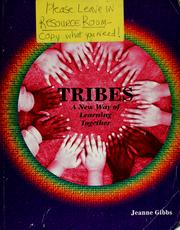Cover of: Tribes | Jeanne Gibbs
