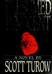 Cover of: Presumed innocent by Scott Turow