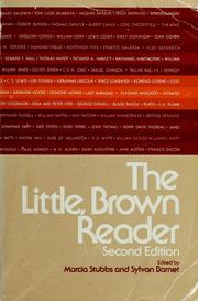 Cover of: The Little, Brown reader | edited by Marcia Stubbs, Sylvan Barnet.