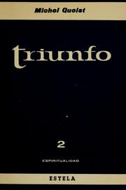 Cover of: Triunfo | Michel Quoist