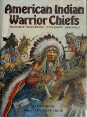 Cover of: American Indian warrior chiefs | Jason Hook