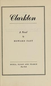 Cover of: Clarkton | Howard Fast