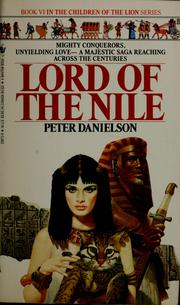 Cover of: Lord of the Nile | Peter Danielson