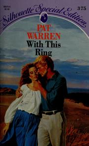 Cover of: With This Ring by Pat Warren
