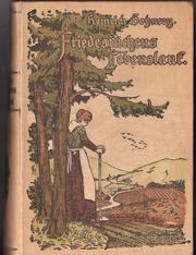 Cover of: Friedesinchens Lebenslauf