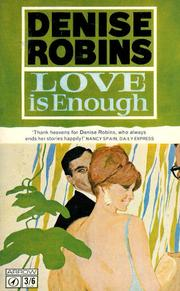 Cover of: Love Is Enough