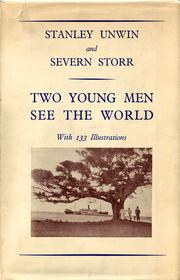 Cover of: Two young men see the world | Sir Stanley Unwin