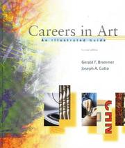 Cover of: Careers in art | Gerald F. Brommer