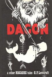 Cover of: Dagon, and other macabre tales