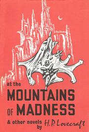 Cover of: At the mountains of madness, and other novels