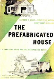 Cover of: The Prefabricated House