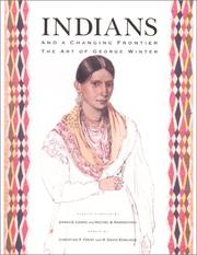 Cover of: Indians and a changing frontier
