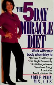 The 5 Day Miracle Diet by Adele Puhn
