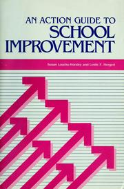 Cover of: An  action guide to school improvement | Susan Loucks-Horsley