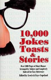 10,000 jokes, toasts & stories by Lewis Copeland
