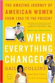 Cover of: When Everything Changed