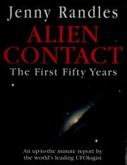 Cover of: Alien contact | Jenny Randles