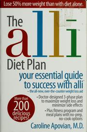 Cover of: The  Alli diet plan | Caroline M. Apovian