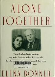 Cover of: Alone together by Elena Bonnėr