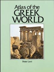 Cover of: Atlas of the Greek world