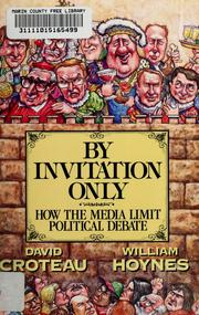 Cover of: By invitation only | David Croteau