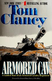 Cover of: Armored cav | Tom Clancy